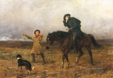 Duty Heywood Hardy horse riding Oil Paintings