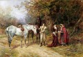 THE FORTUNE TELLER Heywood Hardy horse riding
