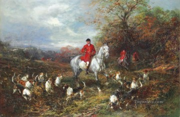 Drawing Cover Heywood Hardy horse riding Oil Paintings