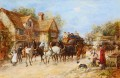 Changing the Horses Heywood Hardy horse riding