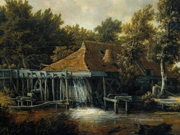 MilDet Meindert Hobbema Oil Paintings