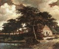 Landscape with a HutMeindert Hobbema