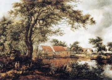 Mill Meindert Hobbema Oil Paintings