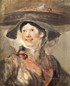 william art painting - The Shrimp Girl William Hogarth