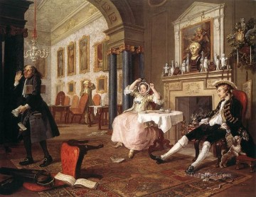 Marriage a la Mode2 William Hogarth Decor Art