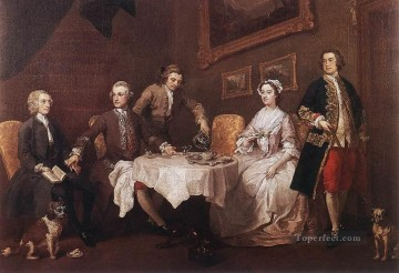 Family Painting - The Strode Family William Hogarth