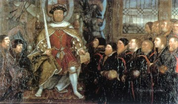 Hans Holbein the Younger Painting - Henry VIII and the Barber Surgeons2 Renaissance Hans Holbein the Younger