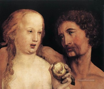 Hans Canvas - Adam and Eve Renaissance Hans Holbein the Younger