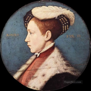 Hans Deco Art - Edward Prince of Wales Renaissance Hans Holbein the Younger