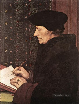 Erasmus Renaissance Hans Holbein the Younger Oil Paintings