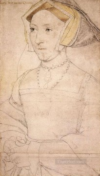 Jan Canvas - Jane Seymour Renaissance Hans Holbein the Younger