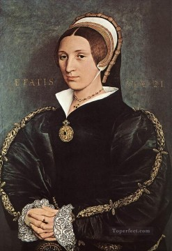 cat Art Painting - Portrait of Catherine Howard Renaissance Hans Holbein the Younger