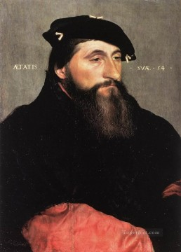 Hans Canvas - Portrait of Duke Antony the Good of Lorraine Renaissance Hans Holbein the Younger