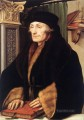 Portrait of Erasmus of Rotterdam Renaissance Hans Holbein the Younger