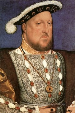 Portrait of Henry VIII 2 Renaissance Hans Holbein the Younger Oil Paintings