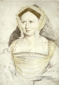 Portrait of Lady Mary Guildford Renaissance Hans Holbein the Younger Oil Paintings