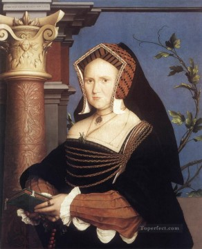 Portrait of Lady Mary Guildford2 Renaissance Hans Holbein the Younger Oil Paintings