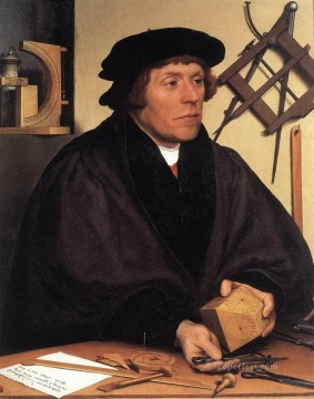 Portrait of Nikolaus Kratzer Renaissance Hans Holbein the Younger Oil Paintings