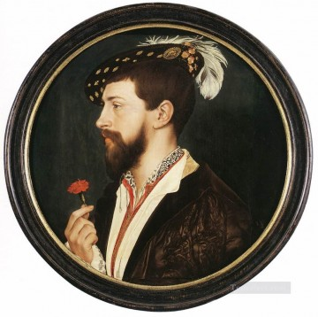 Portrait of Simon George Renaissance Hans Holbein the Younger Oil Paintings