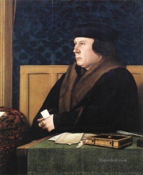 Hans Holbein the Younger Painting - Portrait of Thomas Cromwell Renaissance Hans Holbein the Younger