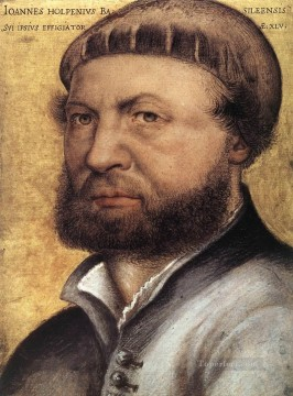 Hans Canvas - Self Portrait Renaissance Hans Holbein the Younger