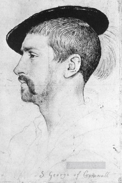 George Painting - Simon George of Quocote Renaissance Hans Holbein the Younger