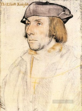 Hans Holbein the Younger Painting - Sir Thomas Elyot Renaissance Hans Holbein the Younger