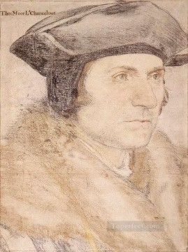 Sir Thomas More Renaissance Hans Holbein the Younger Oil Paintings