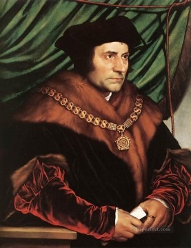 Hans Deco Art - Sir Thomas More2 Renaissance Hans Holbein the Younger