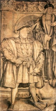 Henry Art Painting - Henry VIII and Henry VII Renaissance Hans Holbein the Younger