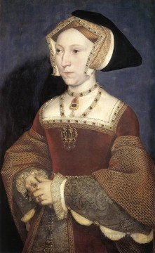 Hans Holbein the Younger Painting - Jane Seymour Queen of England Renaissance Hans Holbein the Younger
