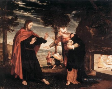 Hans Oil Painting - Noli me Tangere Renaissance Hans Holbein the Younger