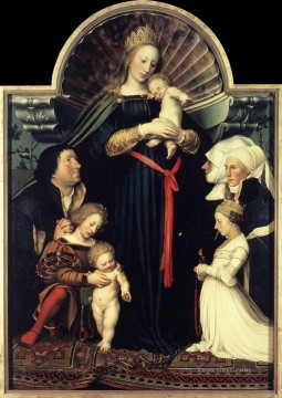 Darmstadt Madonna Hans Holbein the Younger Oil Paintings