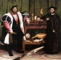 Jean de Dinteville and Georges de Selve The Ambassadors Renaissance Hans Holbein the Younger