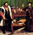 The French Ambassadors Renaissance Hans Holbein the Younger