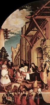 left Canvas - The Oberried Altarpiece left wing Renaissance Hans Holbein the Younger