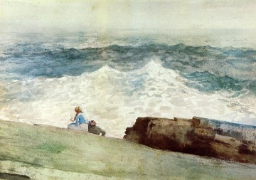 Winslow Homer Painting - The Northeaster Realism marine painter Winslow Homer