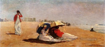 marine Oil Painting - East Hampton Long Island Realism marine painter Winslow Homer