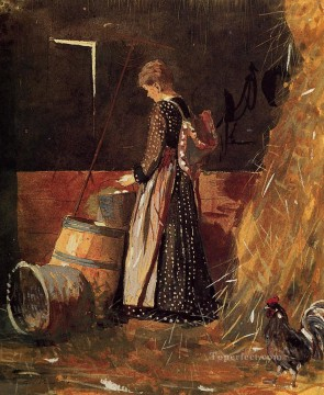 Eggs Art - Fresh Eggs Realism painter Winslow Homer
