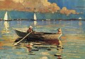 Gloucester Harbor Realism marine painter Winslow Homer