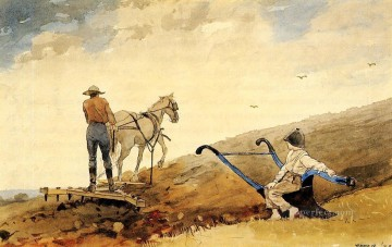Winslow Homer Painting - Harrowing Realism painter Winslow Homer