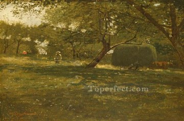 Harvest Scene Realism painter Winslow Homer Oil Paintings