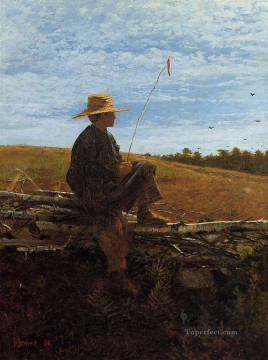 Winslow Homer Painting - On Guard Realism painter Winslow Homer