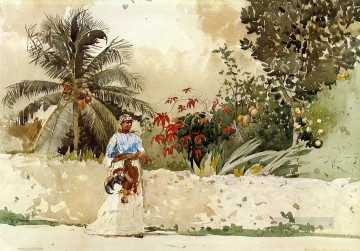 On the Way to the Bahamas Realism painter Winslow Homer Oil Paintings