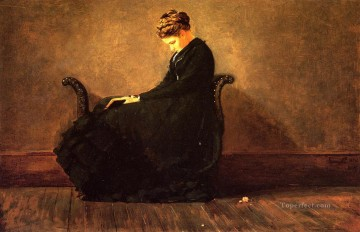 Winslow Homer Painting - Portrait of Helena de Kay Realism painter Winslow Homer