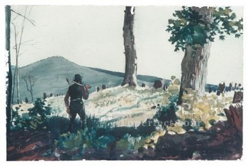Winslow Homer Painting - The Pioneer Realism painter Winslow Homer
