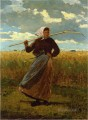 The Return of the Gleaner Realism painter Winslow Homer