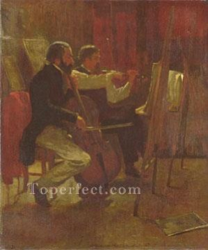 Winslow Art Painting - The Studio Realism painter Winslow Homer