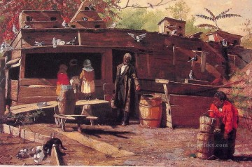 Uncle Ned at Home Realism painter Winslow Homer Oil Paintings