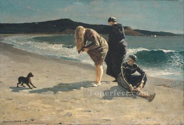 marine Oil Painting - Eagle Head Manchester Realism marine painter Winslow Homer